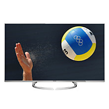 "Buy Panasonic Viera 58DX750B LED HDR 4K Ultra HD 3D Smart TV, 58"" With Freeview Play/freetime & Art Of Interior Switch Design Online at johnlewis.com"