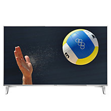 "Buy Panasonic Viera 65DX750B LED HDR 4K Ultra HD 3D Smart TV, 65"" With Freeview Play/freetime & Art Of Interior Switch Design Online at johnlewis.com"