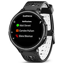 Buy Garmin Forerunner 230 GPS Running Watch with Heart Rate Monitor, Black Online at johnlewis.com