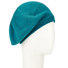Buy John Lewis Plain Knit Beret Online at johnlewis.com
