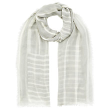 Buy Jigsaw Engineered Stripe Scarf Online at johnlewis.com