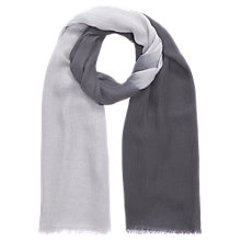 Buy Jigsaw Ombre Frayed Edge Scarf Online at johnlewis.com