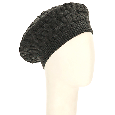1940s Style Hats John Lewis Oval Checkerboard Beret £15.00 AT vintagedancer.com