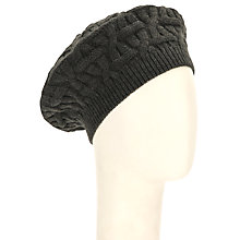 Buy John Lewis Oval Checkerboard Beret Online at johnlewis.com