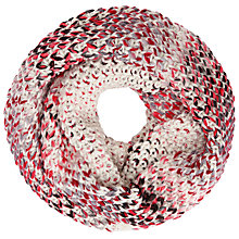 Buy John Lewis Multistitch Snood, Cream/Multi Online at johnlewis.com