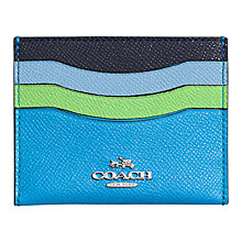 Buy Coach Leather Card Case Online at johnlewis.com
