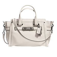 Buy Coach Swagger Leather Carryall Bag Online at johnlewis.com