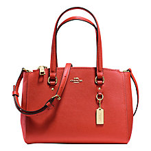 Buy Coach Stanton 26 Crossgrain Leather Carryall Bag Online at johnlewis.com