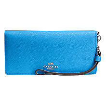 Buy Coach Slim Leather Wallet Online at johnlewis.com