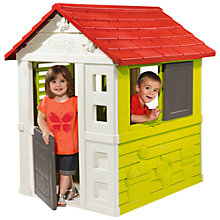 Buy Smoby Nature Playhouse Online at johnlewis.com