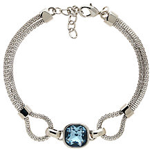 Buy Finesse Double Mesh Glass Crystal Bracelet Online at johnlewis.com