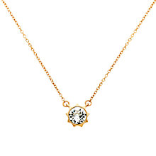 Buy Cachet Bly Swarovski Crystal Pendant Necklace Online at johnlewis.com