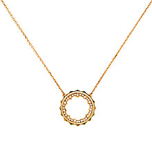 Buy Cachet Taigi Swarovski Crystal Pendant Necklace, Rose Gold Online at johnlewis.com