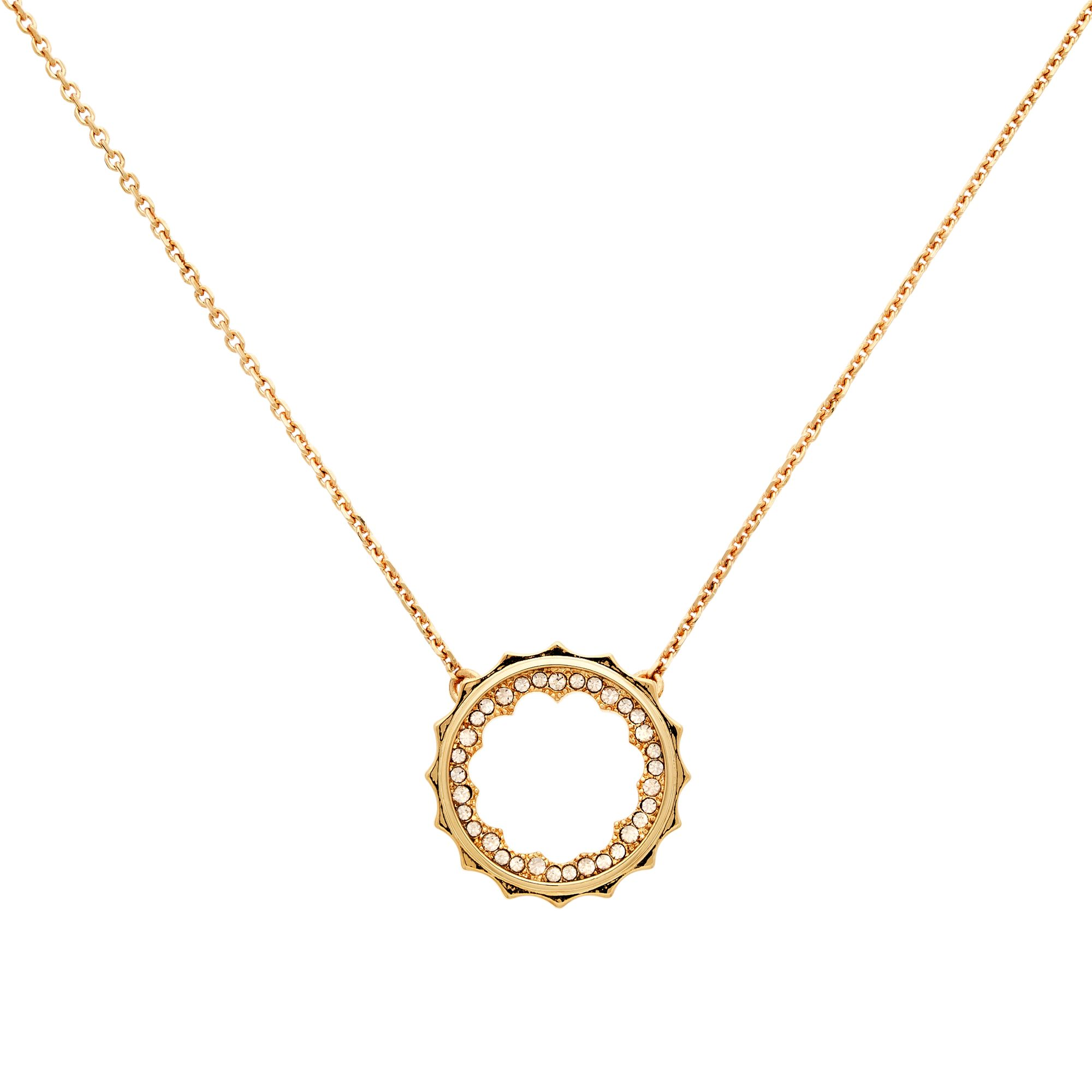 Cachet Cachet Taigi Swarovski Crystal Pendant Necklace, Rose Gold