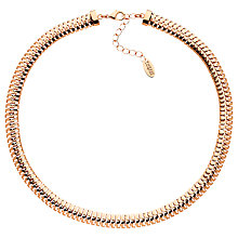 Buy Finesse Fine Mesh Necklace, Rose Gold Online at johnlewis.com