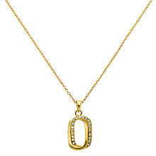Buy Finesse Swarovski Crystal Double Pendant Necklace Online at johnlewis.com