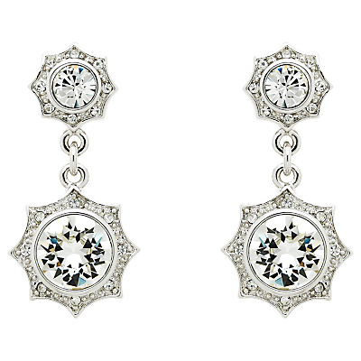Cachet Becka Swarovski Crystal Drop Earrings