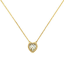 Buy Cachet Effion Swarovski Crystal Heart Pendant Necklace Online at johnlewis.com