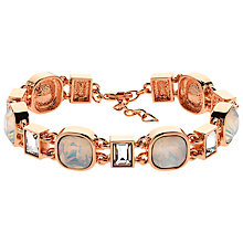 Buy Finesse Cushion and Baguette Glass Crystal Bracelet Online at johnlewis.com