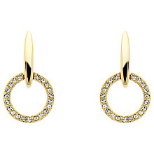 Buy Cachet Lara Swarovski Crystal Round Drop Earrings Online at johnlewis.com
