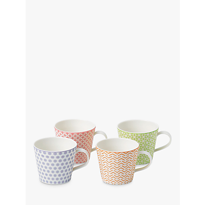 Royal Doulton Pastels Accent Mugs, Set of 4