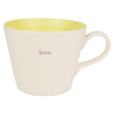 Make International Vintage 'Love' Bucket Mug