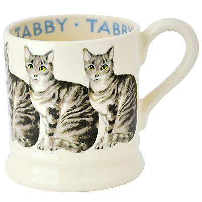 Emma Bridgewater Silver Tabby Cat Half Pint Mug