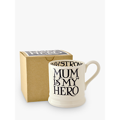 Emma Bridgewater Black Toast 'Mum Is My Hero' Mug