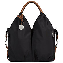 Buy Laessig Signature Changing Bag, Black Online at johnlewis.com