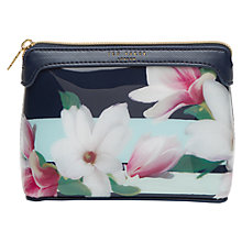 Buy Ted Baker Dorriss Makeup Bag, Navy Online at johnlewis.com
