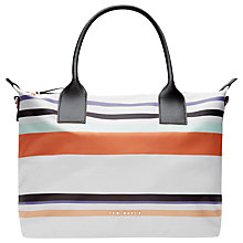 Buy Ted Baker Senley Small Tote Bag, Lilac Online at johnlewis.com