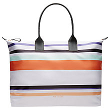 Buy Ted Baker Siennar Large Tote Bag, Lilac Online at johnlewis.com