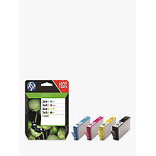 Buy HP 364 XL Ink Cartridge Multipack, Pack Of 4 Online at johnlewis.com
