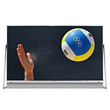 "Buy Panasonic 50DX802B LED HDR 4K Ultra HD 3D Smart TV, 50"" With Freeview Play/freetime, Sound Bar & Art & Interior Freestyle Design Online at johnlewis.com"