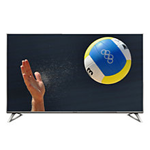 "Buy Panasonic Viera 58DX700B LED HDR 4K Ultra HD Smart TV, 58"" With Freeview Play, Built-In Wi-Fi & Art Of Interior Switch Design Online at johnlewis.com"