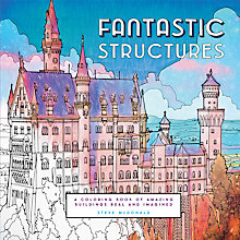 Buy Fantastic Structures Colouring Book Online at johnlewis.com
