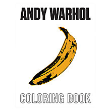 Buy Andy Warhol Colouring Book Online at johnlewis.com