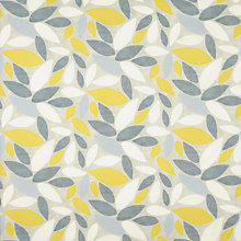 Buy John Lewis Sway Furnishing Fabric, Sulphur Online at johnlewis.com