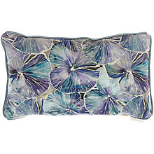 Buy Voyage Nelumbo Cushion, Sapphire Online at johnlewis.com