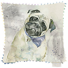 Buy Voyage Pug Cushion Online at johnlewis.com