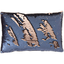 Buy Voyage Elixir Cushion, Sapphire, Large Online at johnlewis.com