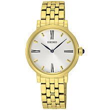 Buy Seiko Women's Quartz Bracelet Strap Watch Online at johnlewis.com