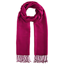 Buy John Lewis Long Fringe Scarf Online at johnlewis.com
