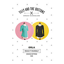 Buy Tilly and the Buttons Orla Sewing Pattern Online at johnlewis.com