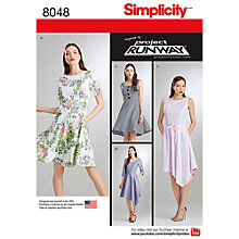 Buy Simplicity Women's Dress Sewing Pattern, 8048 Online at johnlewis.com