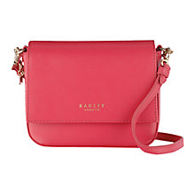 Buy Radley Floral Street Small Leather Multiway Bag Online at johnlewis.com