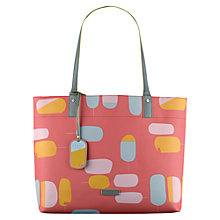 Buy Radley Lollipops Large Tote Bag, Orange Online at johnlewis.com