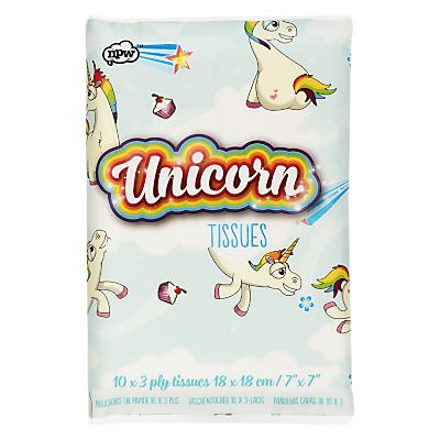 Product photo of Npw unicorn tissues