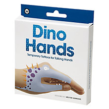 Buy NPW Dino Hands Temporary Tattoos Online at johnlewis.com