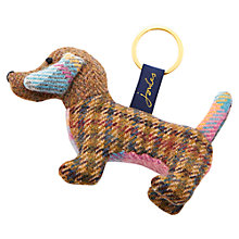Buy Joules Tweedle Dog Novelty Keyring, Multi Online at johnlewis.com